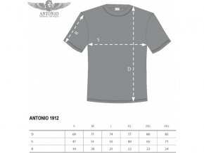 Antonio Civilian - Tričko 1912 XL