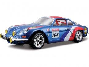 Bburago 1:24 Alpine Renault A110 1600S