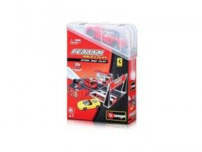 Bburago 1:43 Ferrari Open and Play set