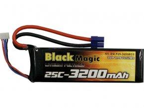 BLACK MAGIC LIPOL 3200mAh 25C 11.1V