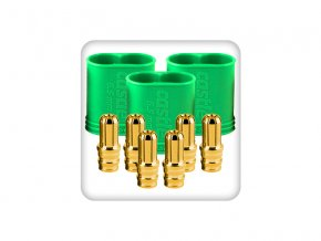Castle zlacený konektor 6.5mm samec (3)