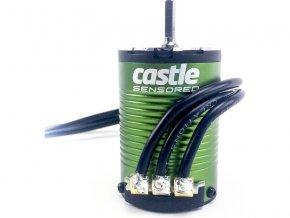 Castle motor 1410 3800ot/V senzored, hřídel 5mm