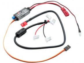 Opticky izolovaný elektronický vypínač pro auta