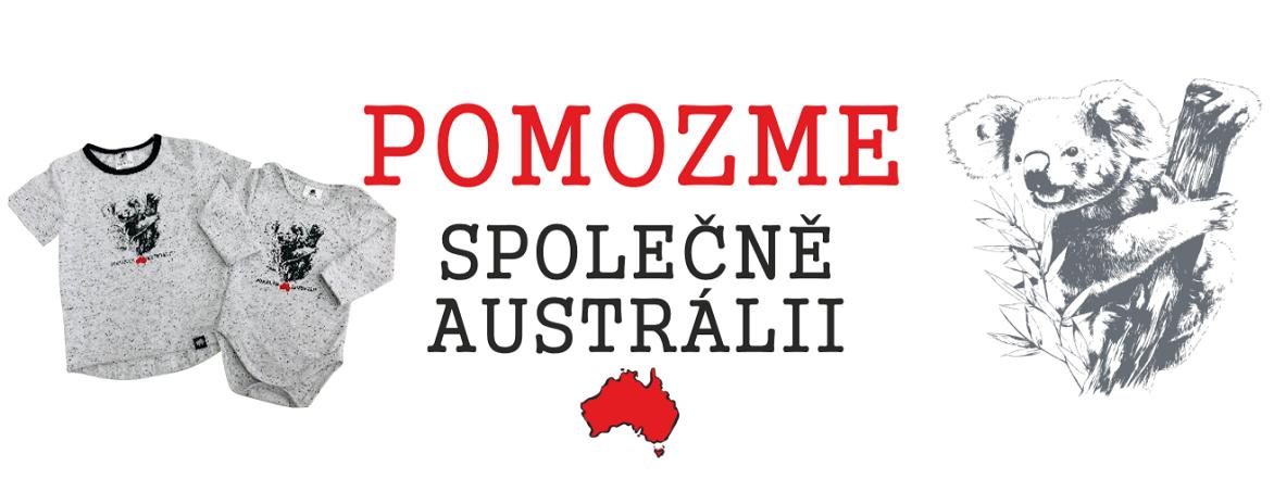 Nová kolekce Pomoc Austrálii