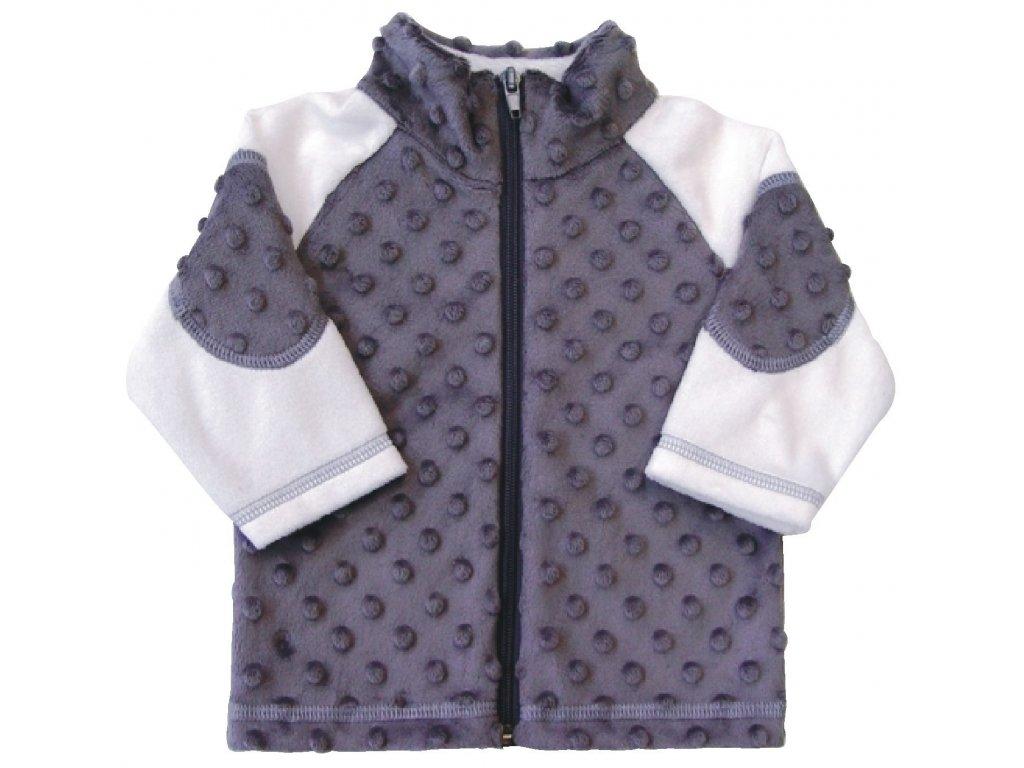 Dětský kabátek Bubble šedá - Hippokids.cz 6c9ae3bb74