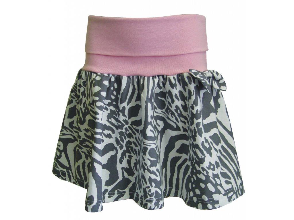 Dívčí sukně Zebra - Hippokids.cz a197e75d68