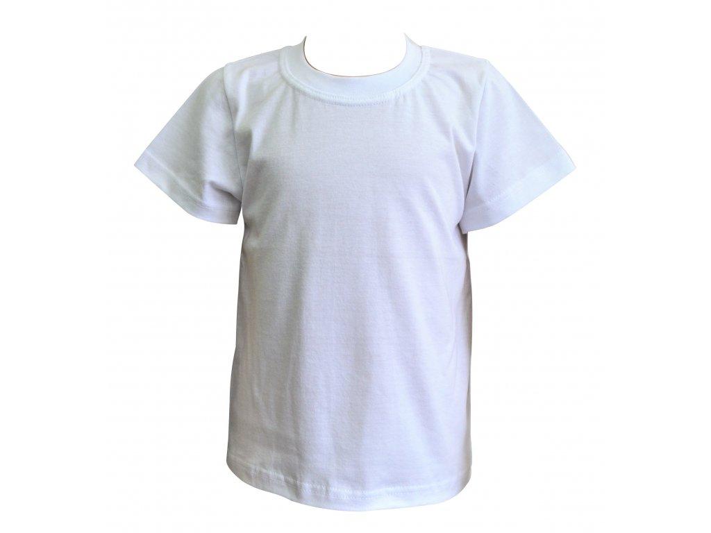 Dětské bílé triko - Hippokids.cz 3f8900800c