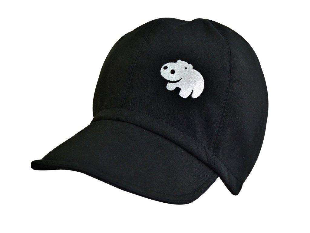 Dětská Softshellová kšiltovka černá Basic - Hippokids.cz 0090345f9b