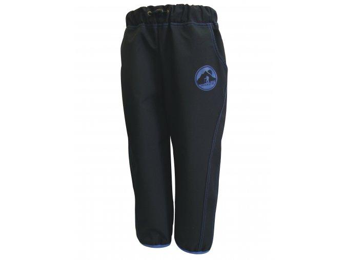 Dětské tenké Softshellové kalhoty Adventure modré