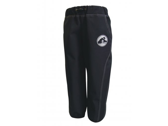 Dětské tenké Softshellové kalhoty Adventure šedé