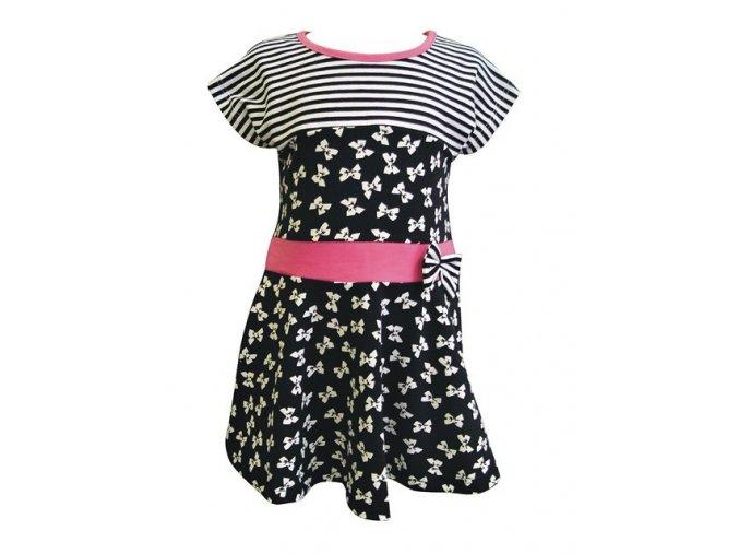 Dívčí šaty Mašlička