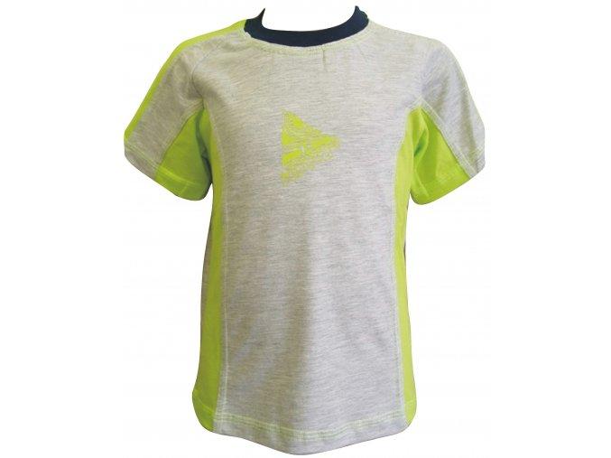 Dětské triko CLOTHING žlutá