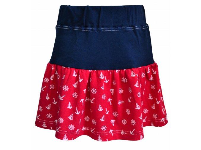 sukně Marine červená