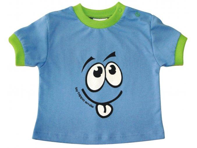 Dětské triko Smile modré