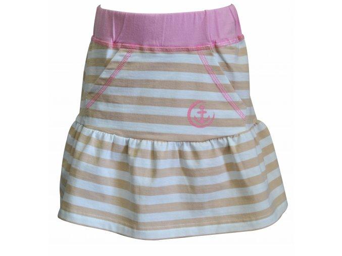 sukně Navy krémová