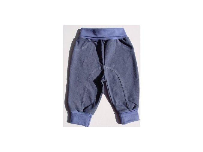 Kojenecké tepláčky Code jeans střední modrá