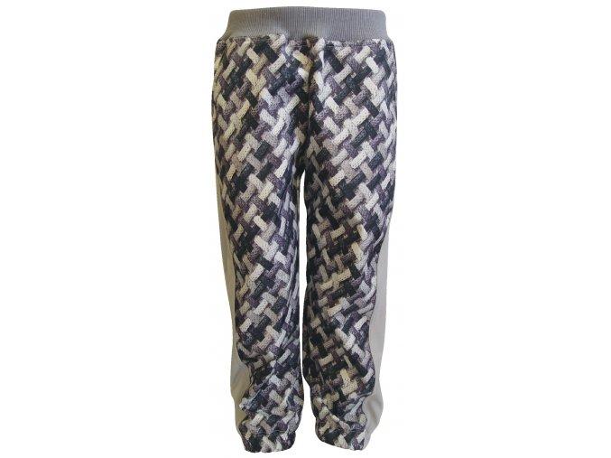 Zimní Softshellové kalhoty Cord šedé