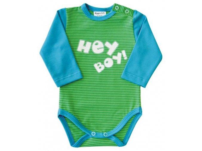 Kojenecké chlapecké body HEY zelená