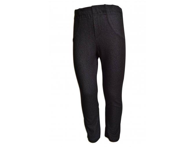 legíny jeans black