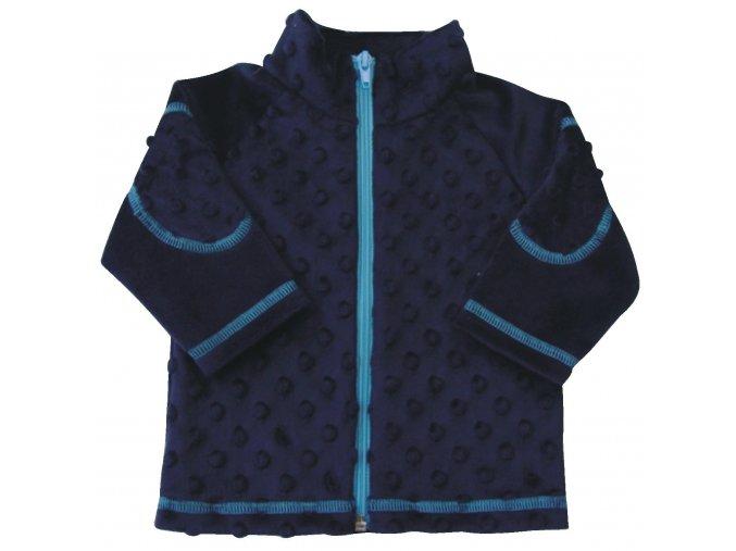 Dětský kabátek Bubble modrá