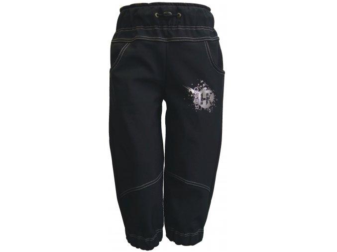 Zimní Softshellové kalhoty Silver černé