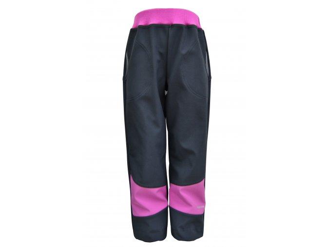 soft kalhoty Basic lila