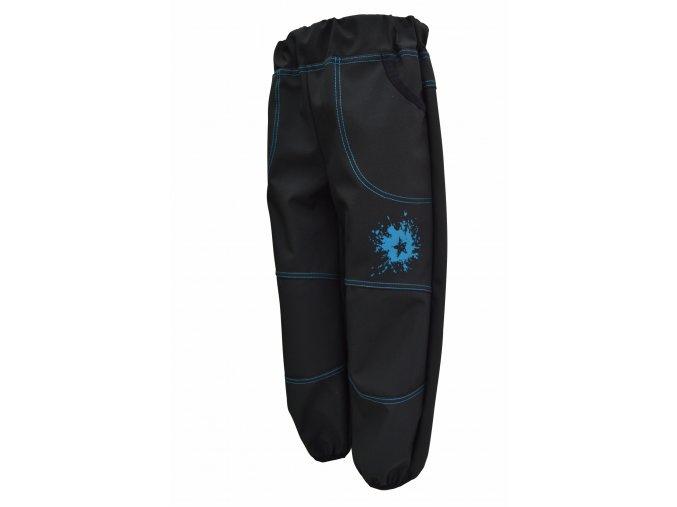 Letní softshell kalhoty Galaxie tyrkys