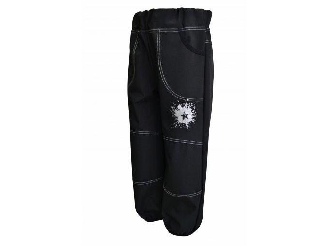 Letní softshlell kalhoty Galaxie šedá