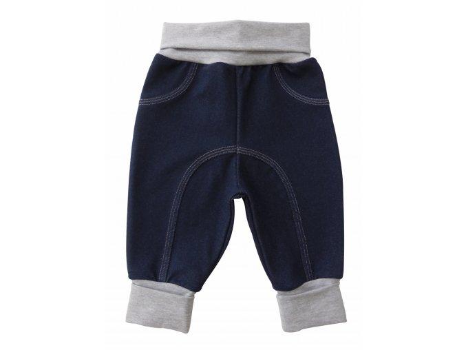 kojenecké tepláčky Jeans šedés 6