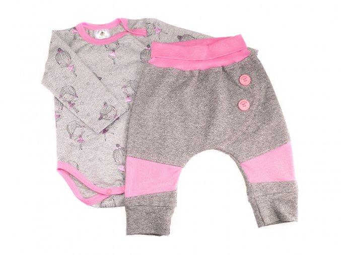 oblečení pro miminka, kojenecké oblečení, kojenecká souprava, Hippokids, Baletka