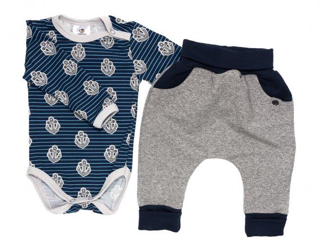 oblečení pro miminka, kojenecké oblečení, kojenecká soupravička, Hippokids Kotva