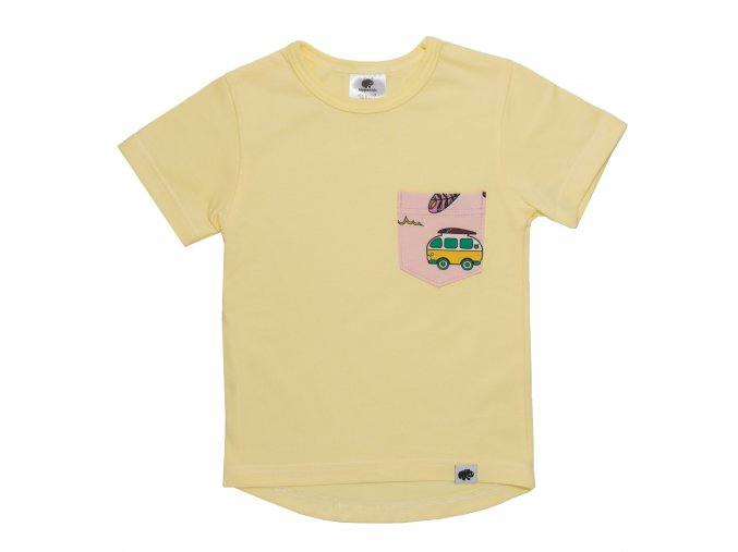 Triko pro miminka Surf, kojenecké tričko pro miminka surf růžová.