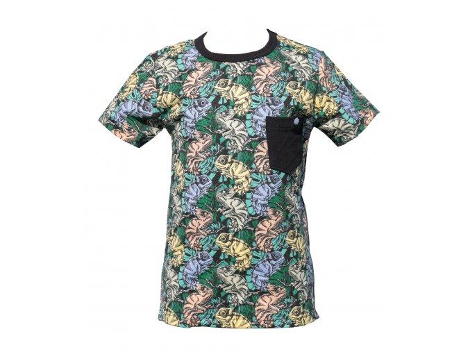 Nová kolekce oblečení pro miminka Chameleon. Chlapecké tričko, kojenecké tričko, dětské triko s motivem Chameleonů. Měnící se triko Chameleon pro kluky.