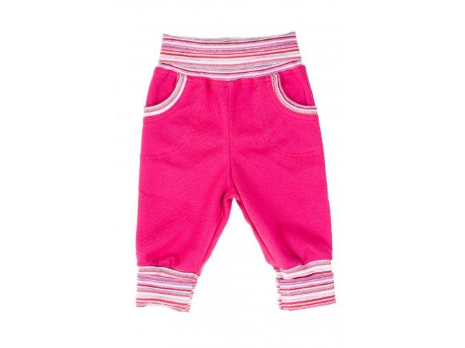 Oblečení pro miminka a kojenecké polodupačky Classic Dark pink. Kojenecké tepláčy ušité z té nejkvalitnější bavlny pro miminka. Tepláčky mají ohrnovací náplety v pase a na nohavicích. Kojnecké body a souprava.