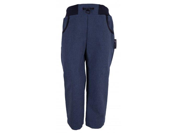 Zimní softshellové kalhoty Denim modré