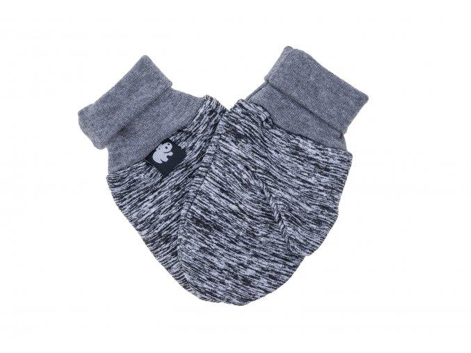 Zateplené rukavičky Neon šedé. Kojenecké rukavičky Dětské rukavičky.Šedé jednobarevné rukavičky. Univerzální rukavičky. Unisex. Kojenecké a dětké oblečení. Zateplené oblečení pro miminka. Bílý chloupek. Náplet