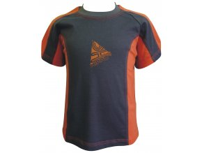 Dětské triko CLOTHING oranž
