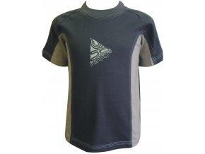 Dětské triko CLOTHING šedá
