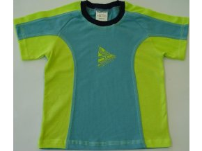 Dětské triko CLOTHING tyrkys
