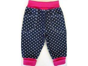 Kojenecké tepláčky Jeans Point pink