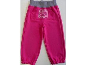 Dětské tepláky Kangaroo pink