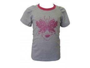Dívčí triko Butterfly