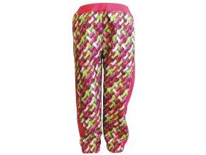Zimní Softshellové kalhoty Cord růžové