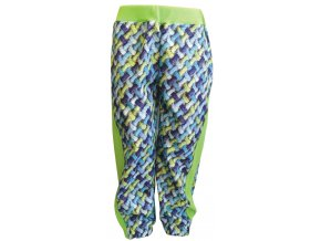 Zimní Softshellové kalhoty Cord kiwi