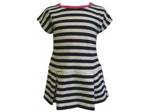 Dívčí šaty Námořník
