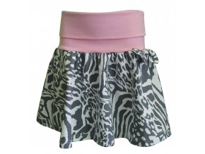 Dívčí sukně Zebra