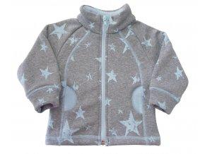 Kojenecký kabátek Heaven azuro