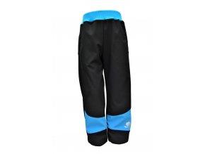 soft kalhoty Basic tyrkys.1