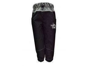 soft kalhoty SIlver šedé