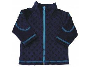 Dětský kabátek Bubble modrá a022e33ca1
